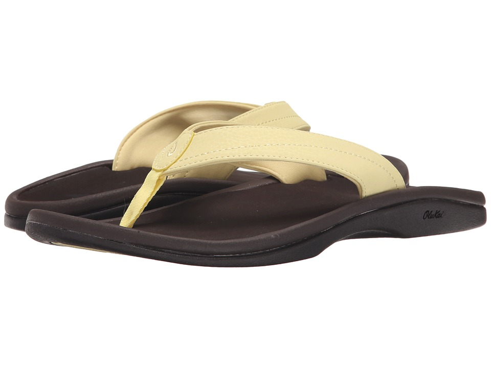 OluKai - Ohana W (Lemonade/Dark Java) Women's Sandals
