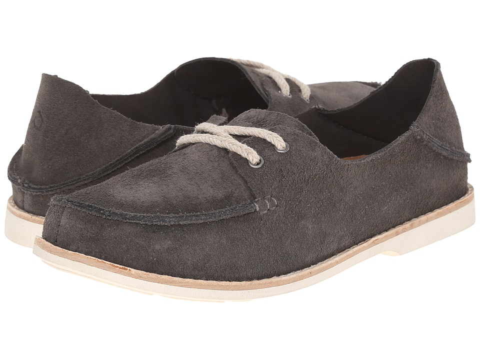 OluKai - Moku (Charcoal/Charcoal) Women's Lace up casual Shoes