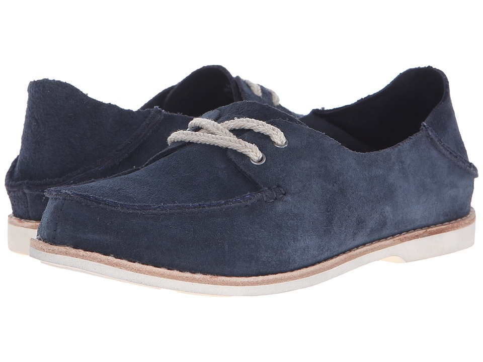 OluKai - Moku (Trench Blue/Trench Blue) Women's Lace up casual Shoes