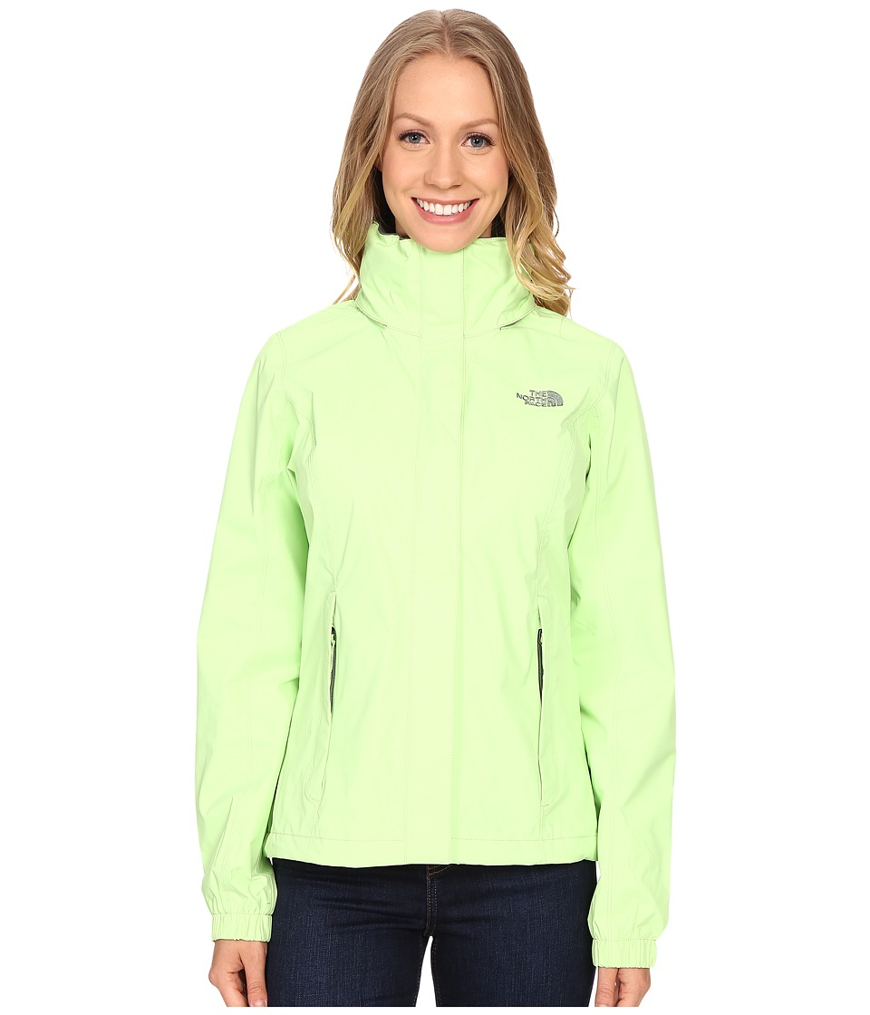 The North Face - Resolve Jacket (Budding Green) Women's Coat