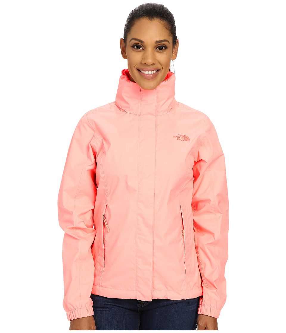 9e1387392 UPC 706421296939 - The North Face Women's Resolve Jacket Neon Peach ...