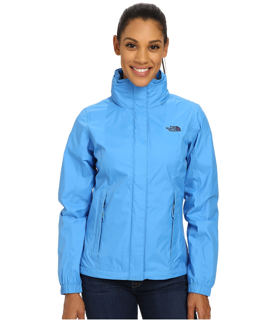 The North Face - Resolve Jacket (Clear Lake Blue/Patriot Blue) Women's Coat
