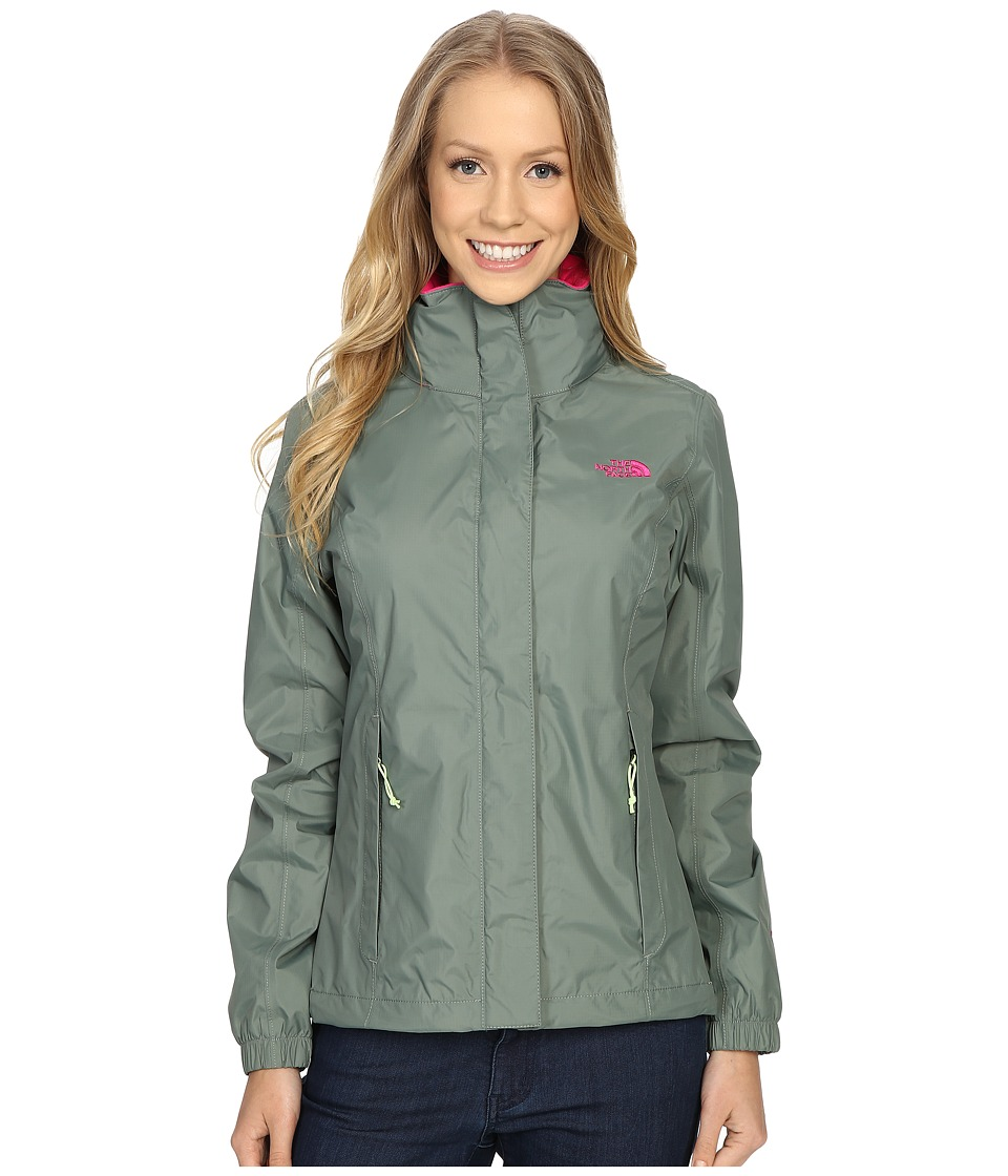 The North Face - Resolve Jacket (Laurel Wreath Green) Women's Coat