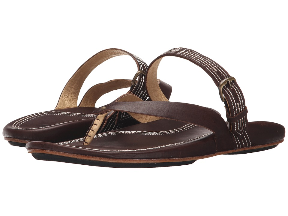 OluKai - Mana Lua (Dark Java/Dark Java) Women's Sandals