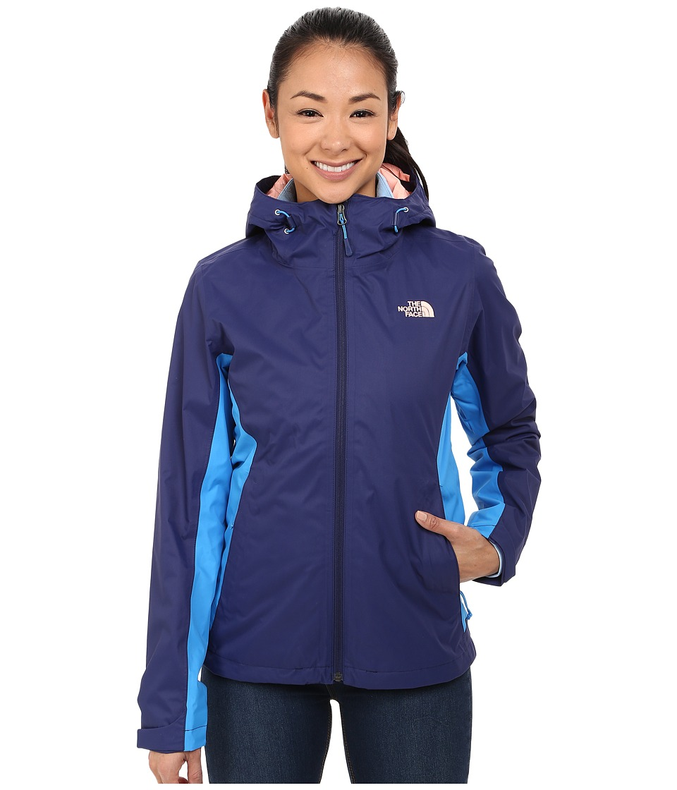 The North Face - Arrowood TriClimate Jacket (Patriot Blue/Clear Lake Blue) Women's Coat