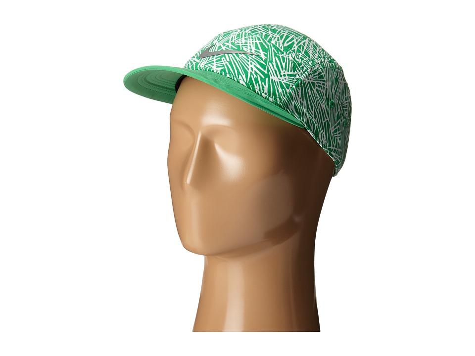 Nike - Run Pocket AW84 Hat (Spring Leaf/Spring Leaf/Spring Leaf/Reflective Silver) Caps