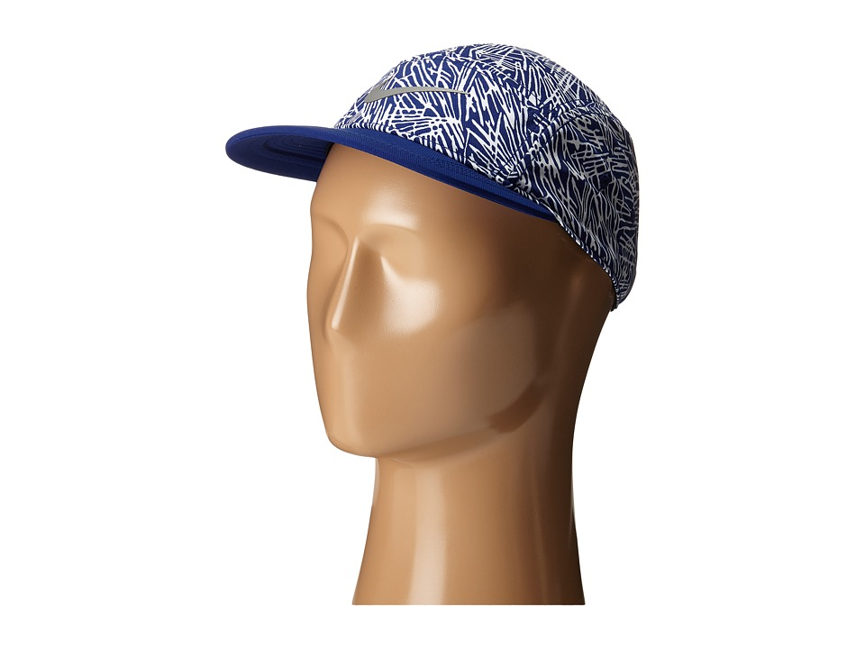 Nike - Run Pocket AW84 Hat (Deep Royal Blue/Deep Royal Blue/Deep Royal Blue/Reflective Silve) Caps