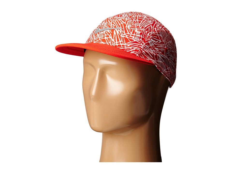 Nike - Run Pocket AW84 Hat (Light Crimson/Light Crimson/Light Crimson/Reflective Silver) Caps