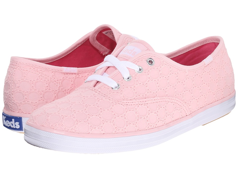 Keds - Champion Eyelet (Light Pink) Women's Lace up casual Shoes