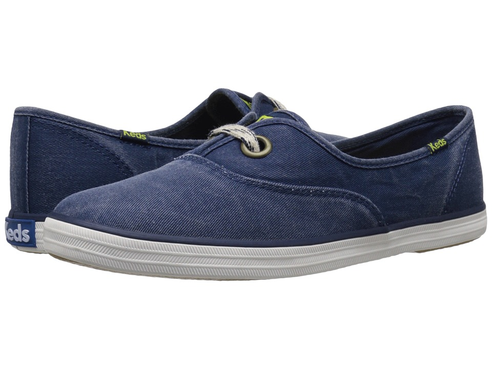 Keds Breeze Salt Washed (Navy) Women