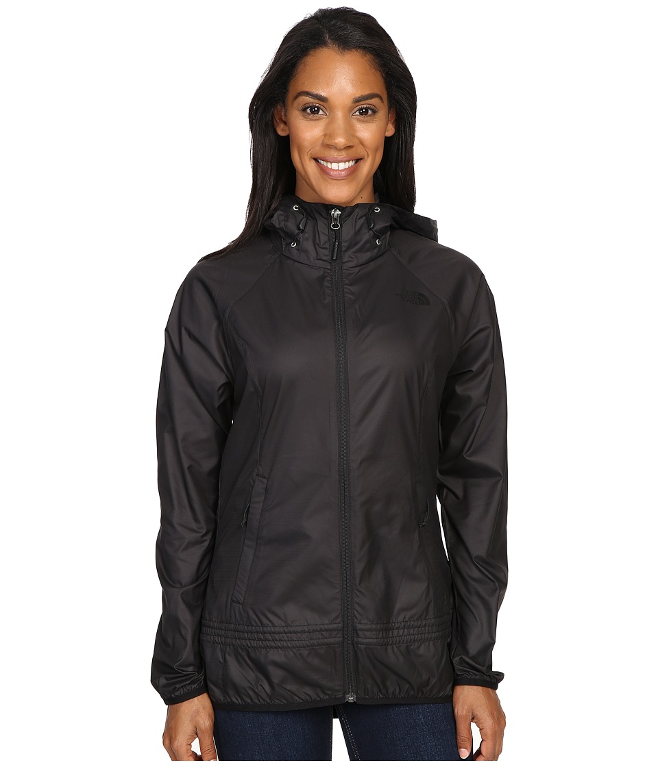 The North Face - Fastpack Wind Jacket (TNF Black Heather) Women's Coat