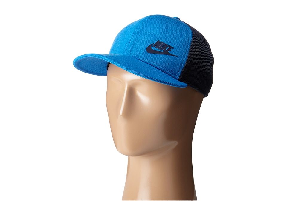 Nike - Tech Pack True Hat - Red (Light Photo Blue/Obsidian/Light Photo Blue/Obsidian) Caps