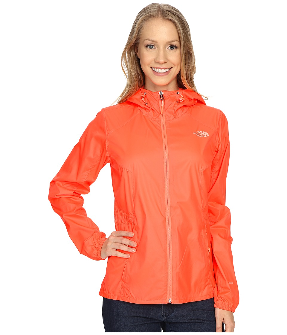 The North Face - Flyweight Hoodie (Tropical Coral) Women's Coat