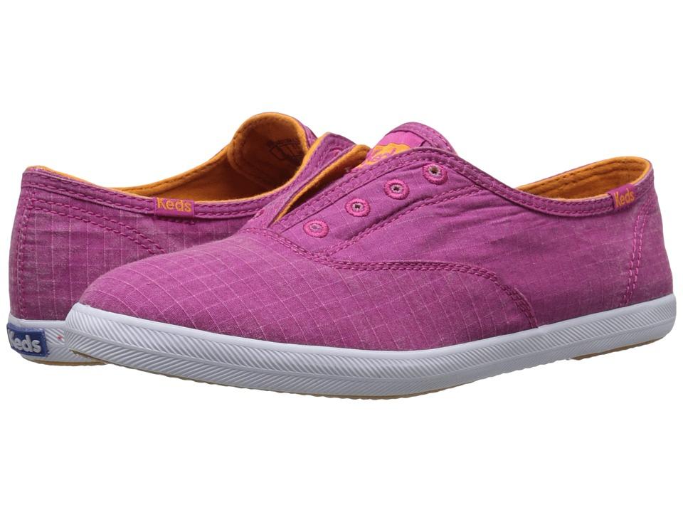 Keds Chillax Ripstop (Berry Pink) Women