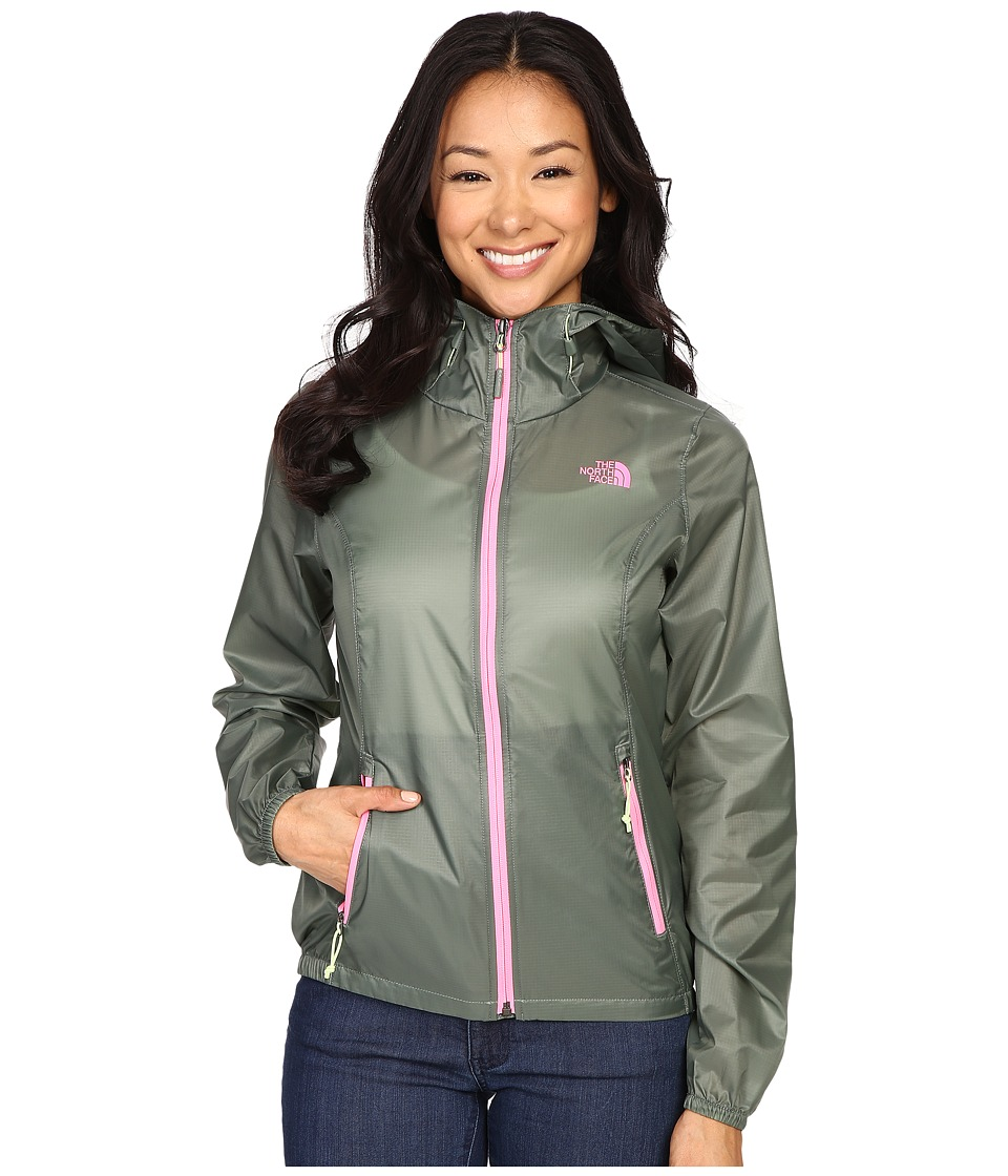 The North Face - Cyclone Hoodie (Laurel Wreath Green) Women's Coat