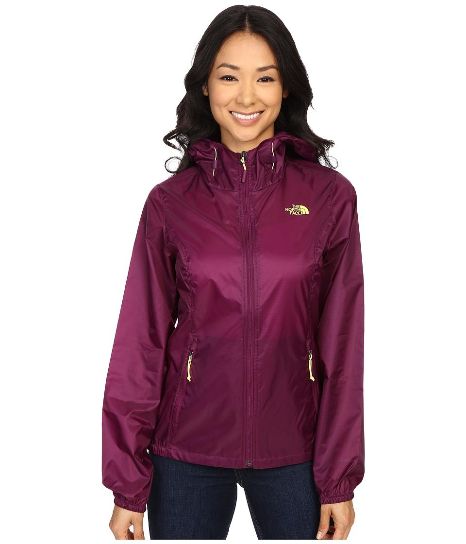 The North Face - Cyclone Hoodie (Pamplona Purple) Women's Coat
