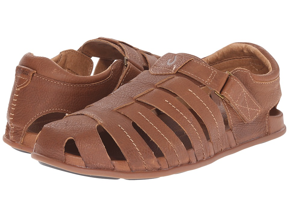 OluKai - Mohalu Fisherman (Ginger/Ginger) Men's Sandals