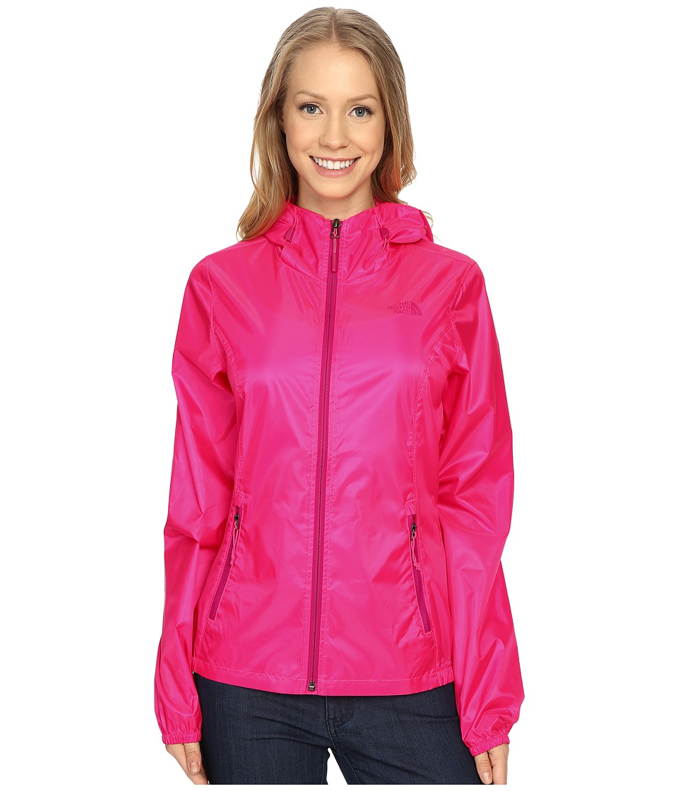 The North Face - Cyclone Hoodie (Glo Pink 2) Women's Coat