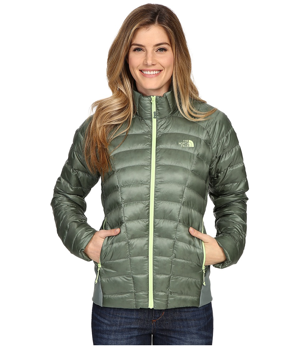 The North Face - Quince Jacket (Laurel Wreath Green) Women's Coat