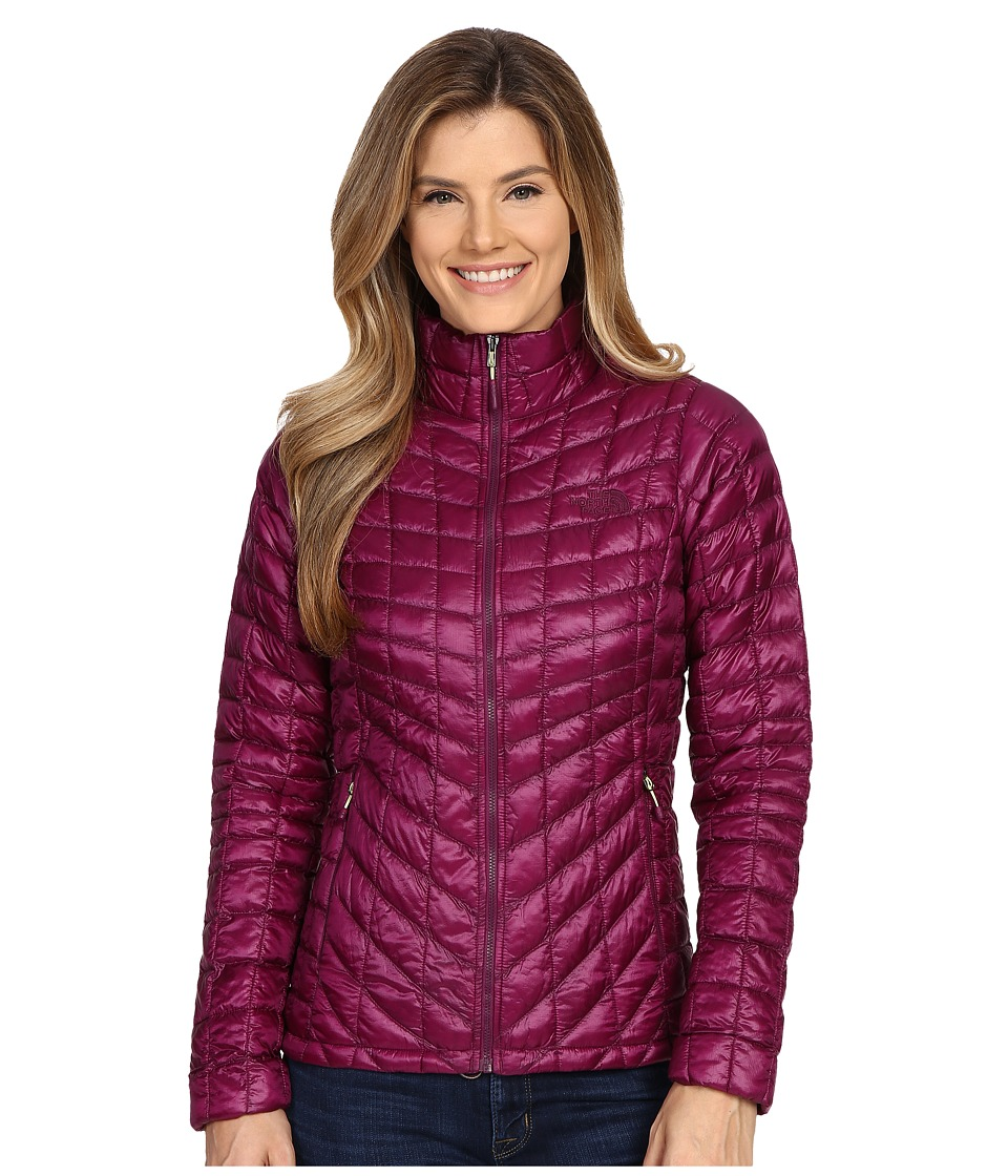 The North Face - ThermoBall Full Zip Jacket (Pamplona Purple) Women's Coat