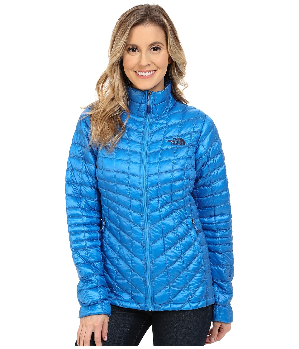 The North Face - ThermoBall Full Zip Jacket (Clear Lake Blue) Women's Coat