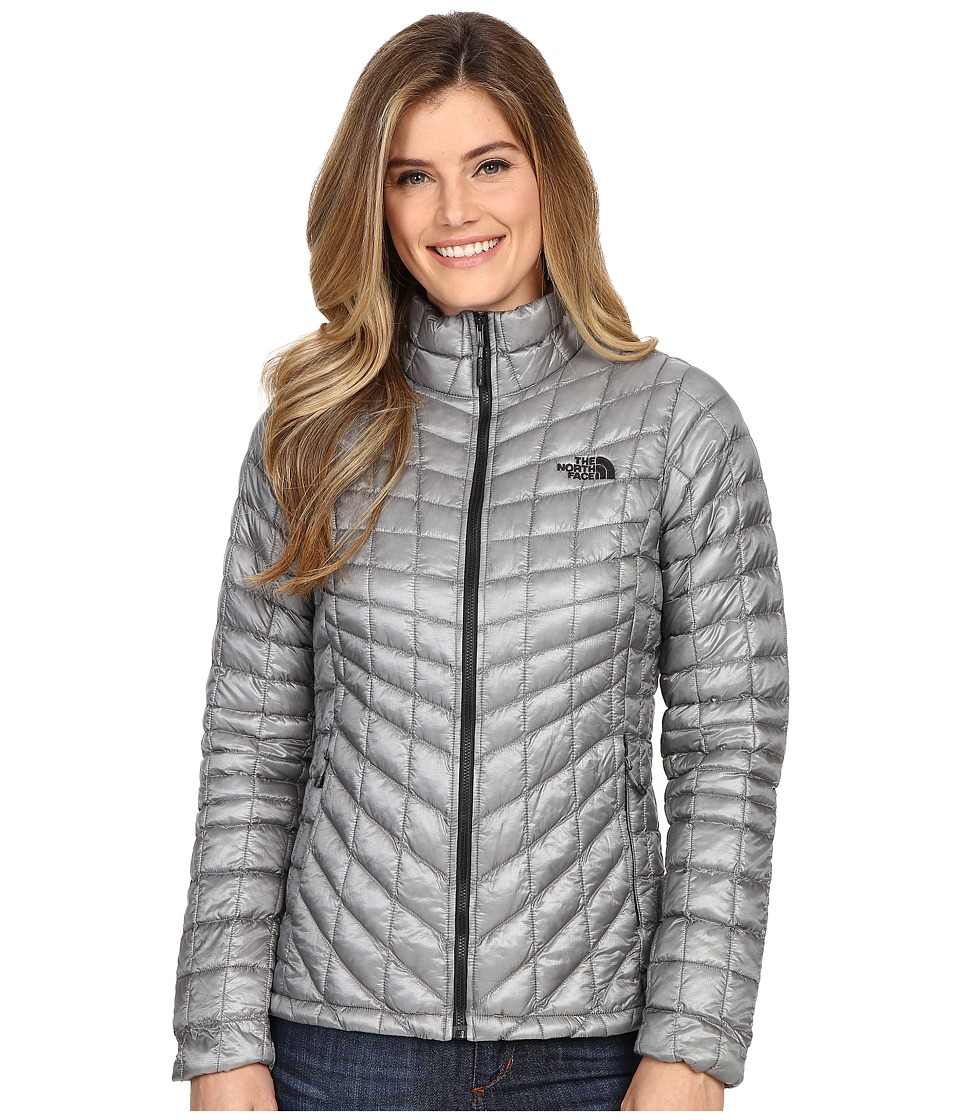 The North Face - ThermoBall Full Zip Jacket (Mid Grey 2) Women's Coat
