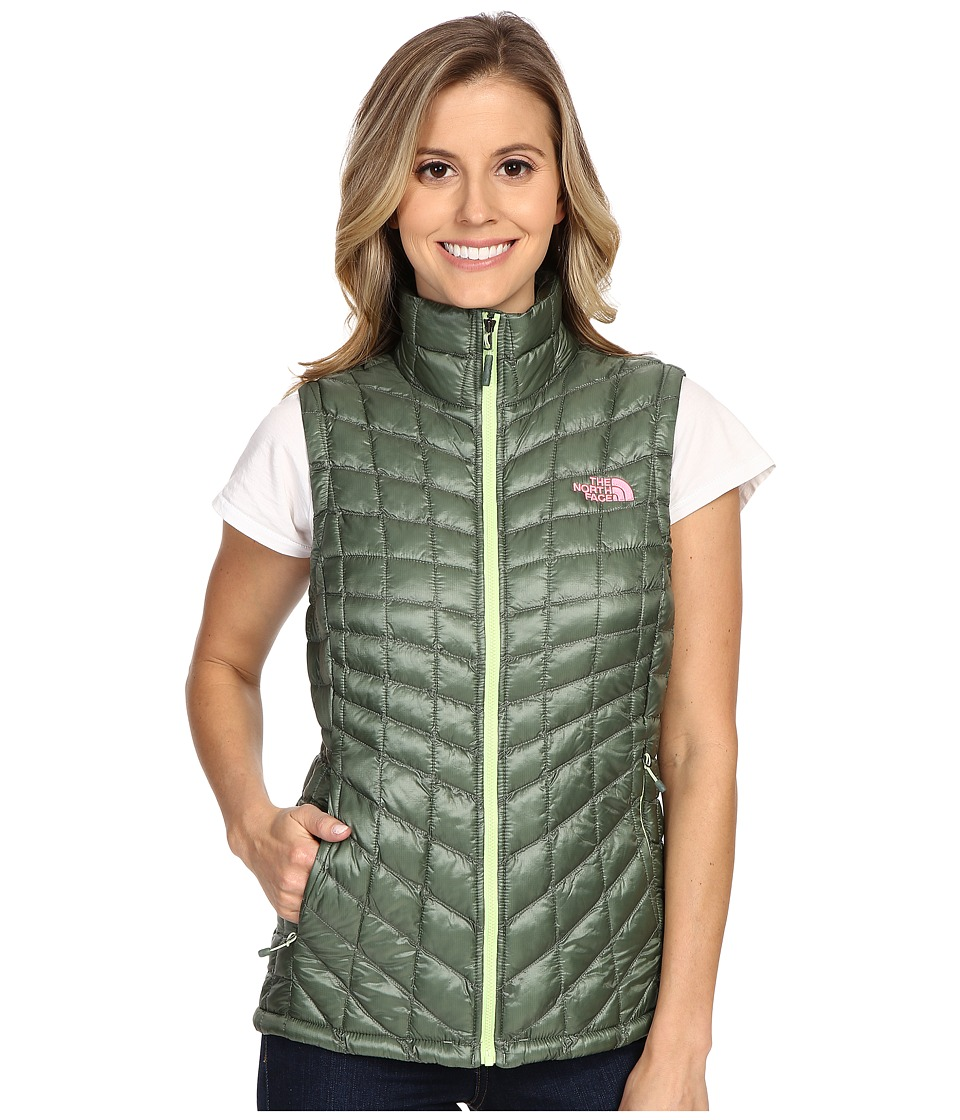 The North Face - ThermoBall Vest (Laurel Wreath Green) Women's Vest