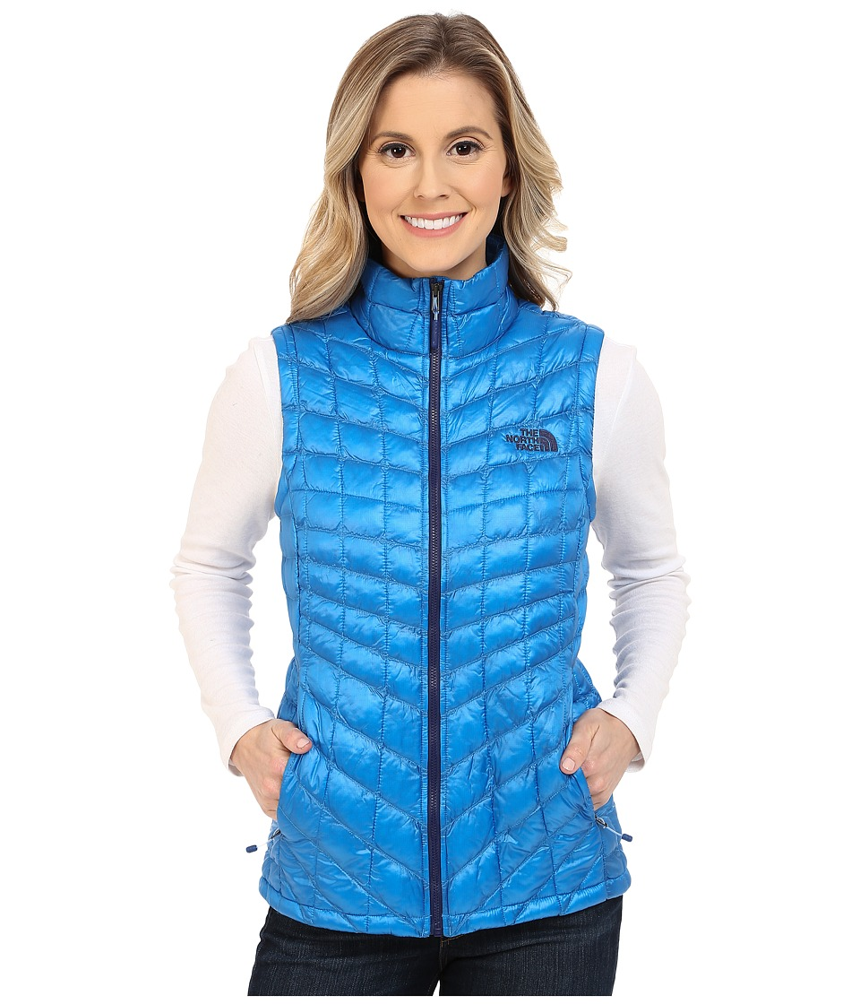 The North Face - ThermoBall Vest (Clear Lake Blue) Women's Vest