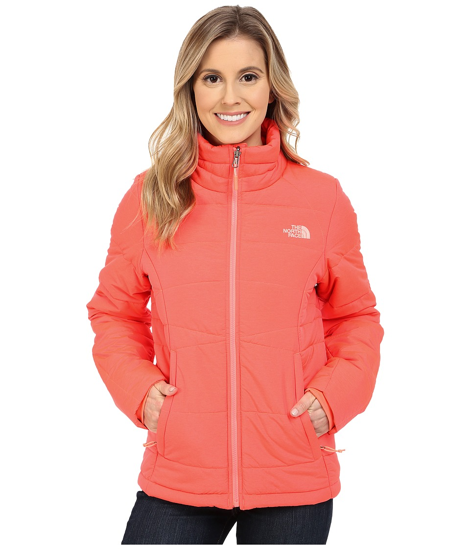 The North Face - Roamer Jacket (Tropical Coral Heather) Women's Coat