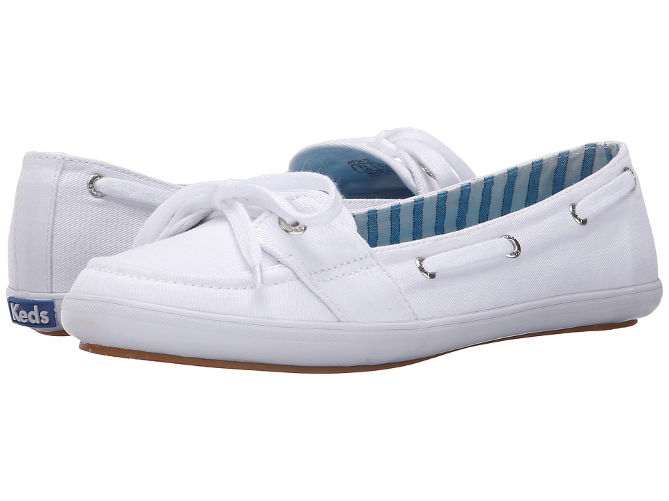 Keds - Teacup Boat Seasonal Solid (White) Women