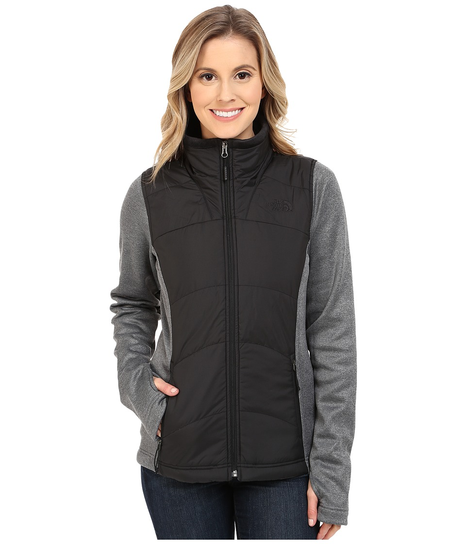 The North Face - Agave Mash-Up Jacket (TNF Black/TNF Dark Grey Heather) Women's Coat