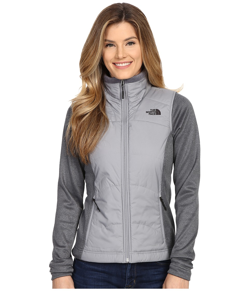 The North Face - Agave Mash-Up Jacket (Mid Grey/TNF Medium Grey Heather) Women's Coat