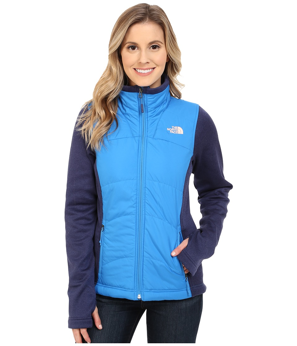 The North Face - Agave Mash-Up Jacket (Clear Lake Blue/Patriot Blue Heather) Women's Coat