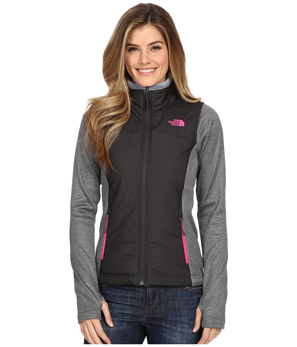 The North Face - Agave Mash-Up Jacket (Asphalt Grey/TNF Dark Grey Heather) Women's Coat