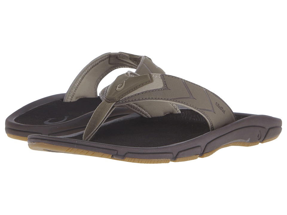 OluKai - Kaku (Mustang/Dark Java) Men's Sandals