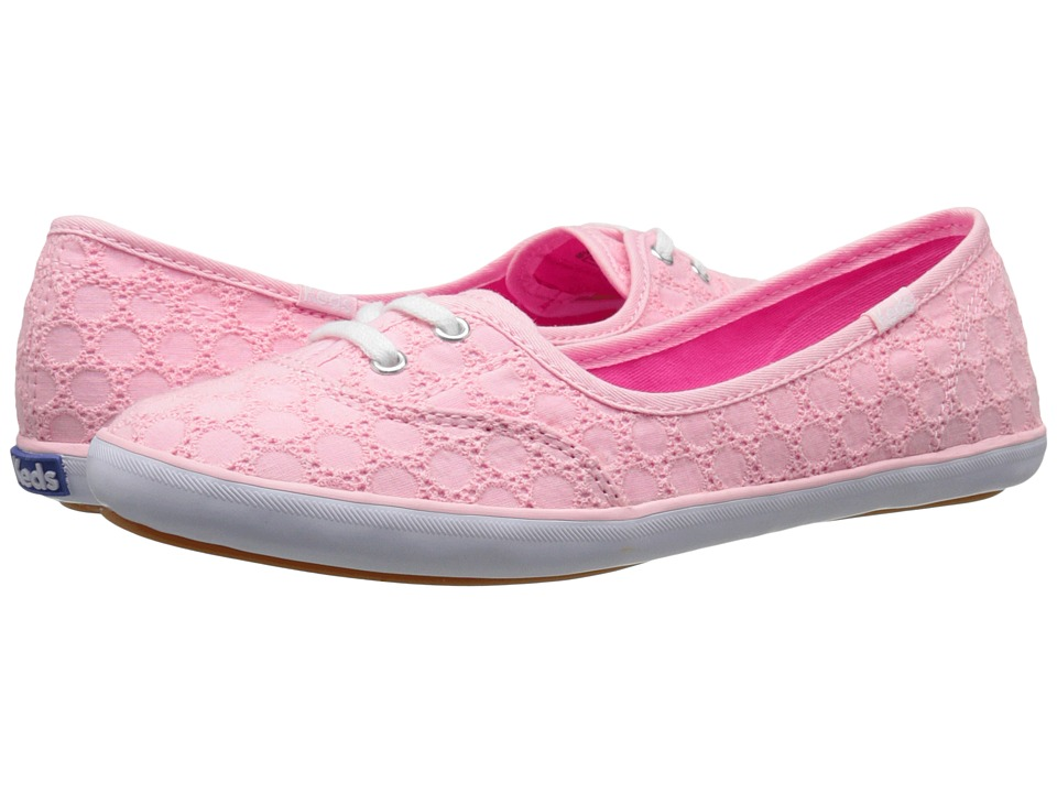 Keds - Teacup Eyelet (Light Pink) Women's Lace up casual Shoes