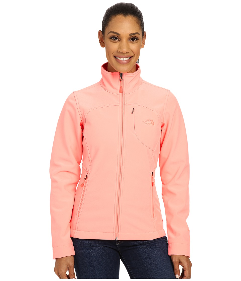 The North Face - Apex Bionic Jacket (Neon Peach) Women's Coat
