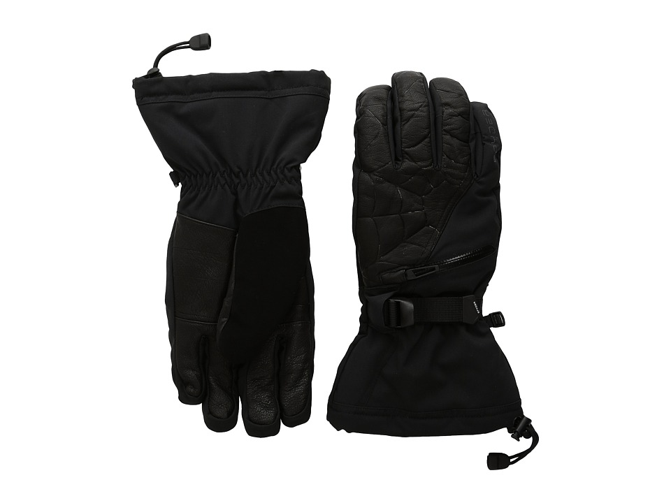 Spyder - Omega Conduct Ski Glove (Black/Polar) Ski Gloves