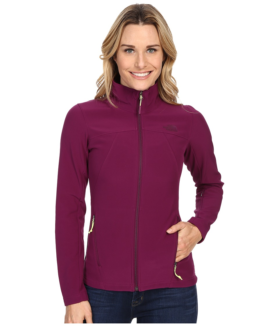 The North Face - Apex Shellrock Jacket (Pamplona Purple) Women's Coat
