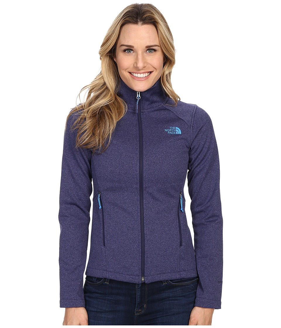 The North Face - Canyonwall Jacket (Patriot Blue Heather/Patriot Blue Heather) Women's Sweatshirt