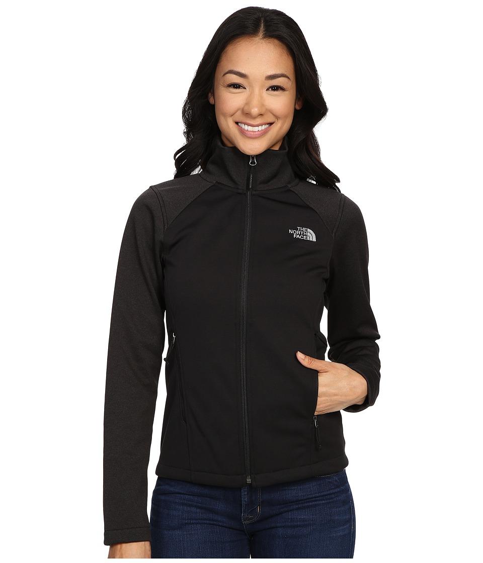 The North Face - Canyonwall Jacket (TNF Black/TNF Black Heather/Mid Grey) Women's Sweatshirt