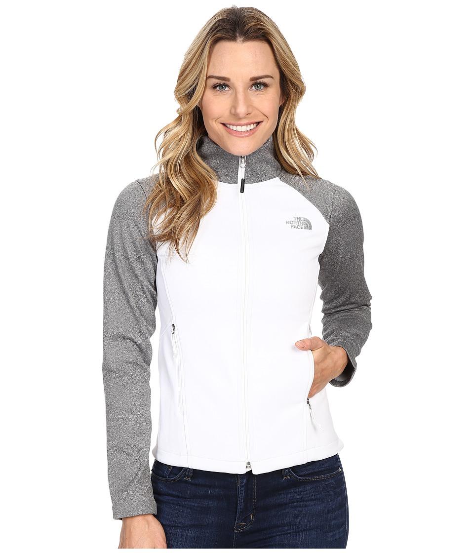The North Face Canyonwall Jacket (TNF White/TNF Medium Grey Heather (Prior Season)) Women