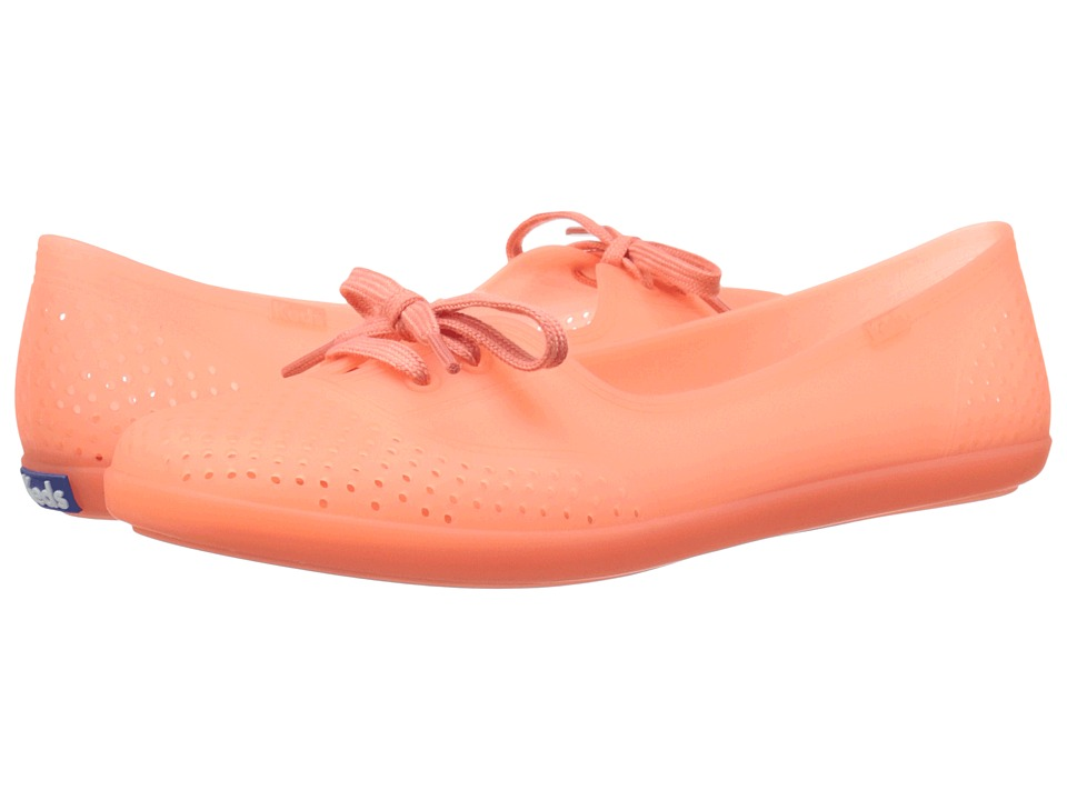 Keds - Teacup Jelly (Coral) Women's Lace up casual Shoes