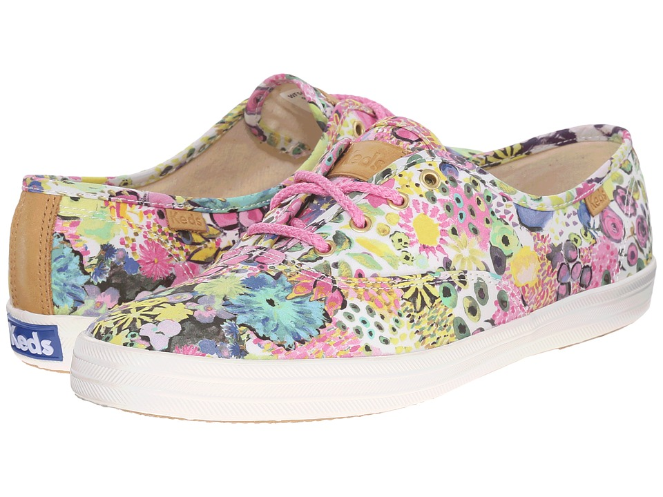 Keds - Champion Liberty Floral (Pink Multi) Women's Lace up casual Shoes
