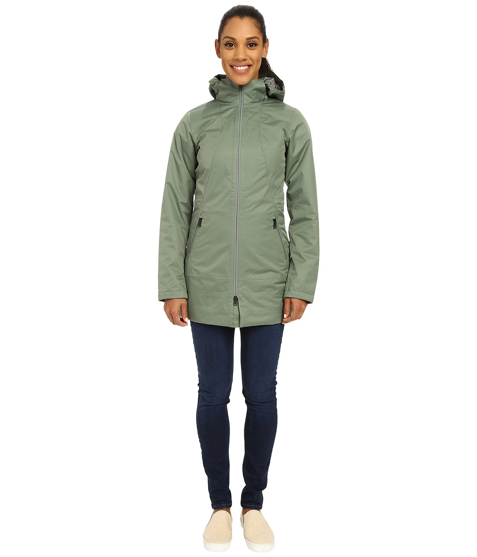 The North Face - Insulated Ancha Parka (Laurel Wreath Green) Women's Coat