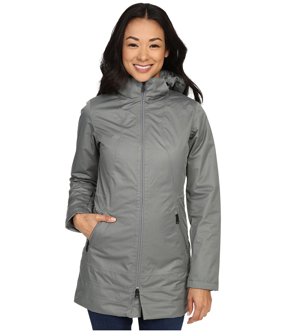 The North Face - Insulated Ancha Parka (Sedona Sage Grey) Women's Coat