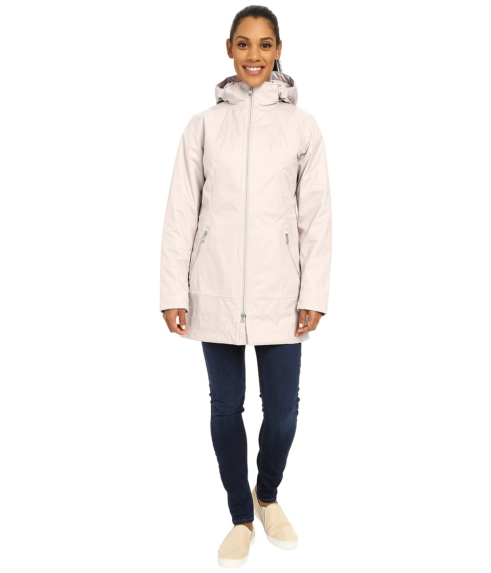 The North Face - Insulated Ancha Parka (Ashes of Rose Grey) Women's Coat