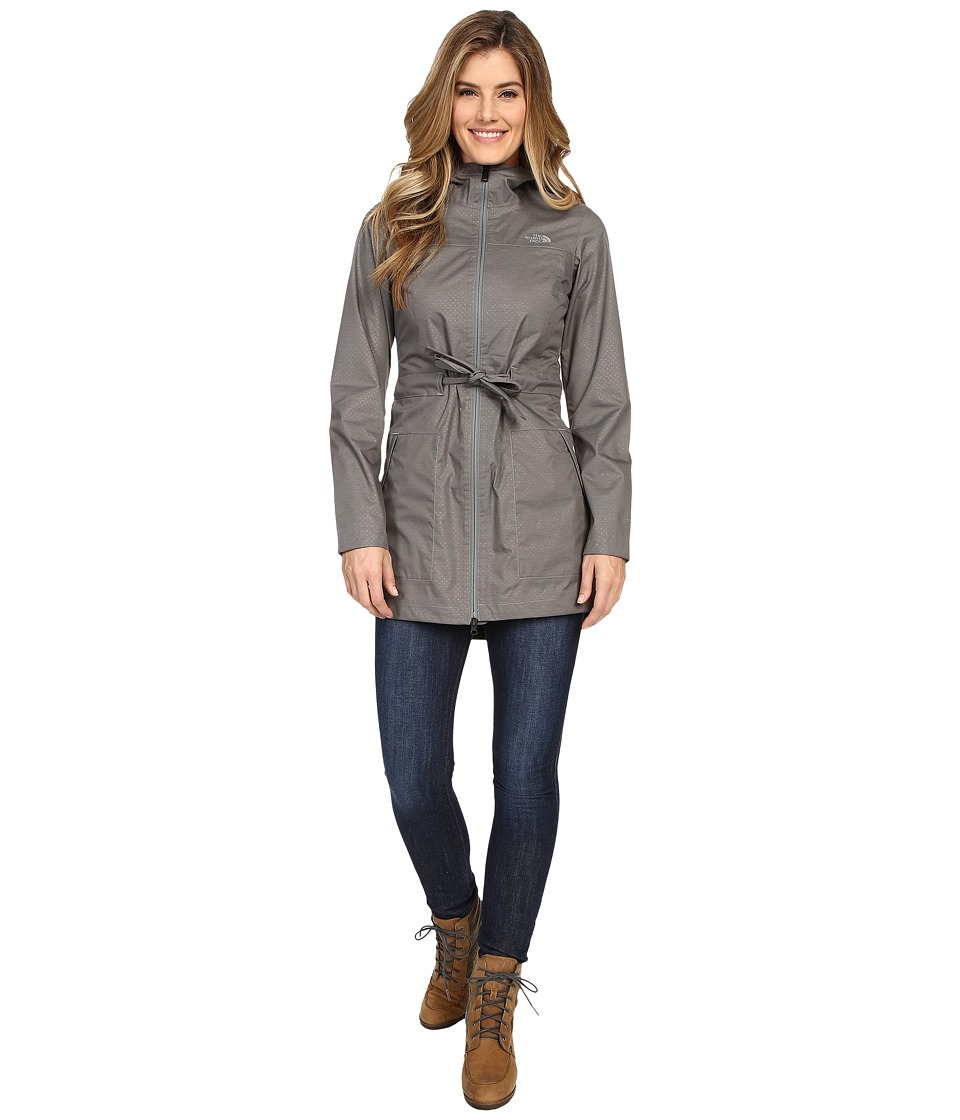 The North Face - Teralinda Trench (Sedona Sage Grey) Women's Coat