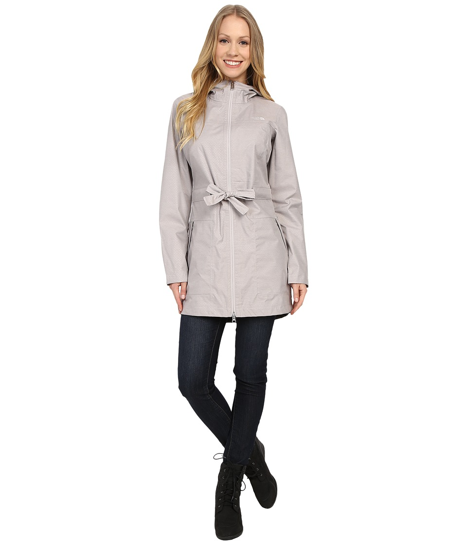 The North Face - Teralinda Trench (Ashes of Roses Grey) Women's Coat