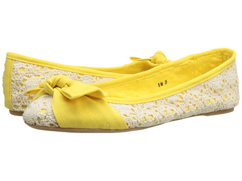 DOLCE by Mojo Moxy - Buttercup (Yellow) Women's Flat Shoes